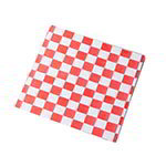 American Metalcraft PPCH3R Fry Paper, 12 in x12 in, Red Checkerboard