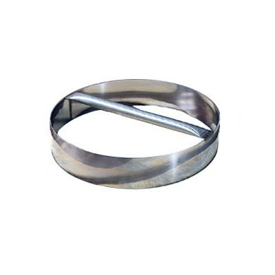 American Metalcraft RDC12 12-in Dough Cutting Ring w/ Welded Handle, Stainless
