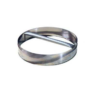 American Metalcraft RDC16 16-in Dough Cutting Ring w/ Welded Handle, Stainless