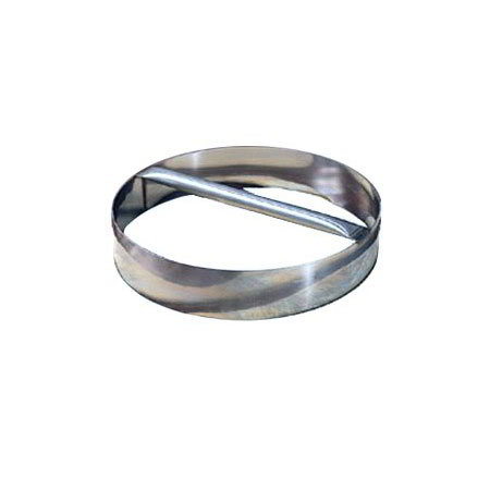 """American Metalcraft RDC7 7"""" Dough Cutting Ring w/ Welded Handle, Stainless"""