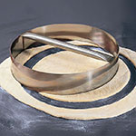 """American Metalcraft RDC8 8"""" Dough Cutting Ring w/ Welded Handle, Stainless"""