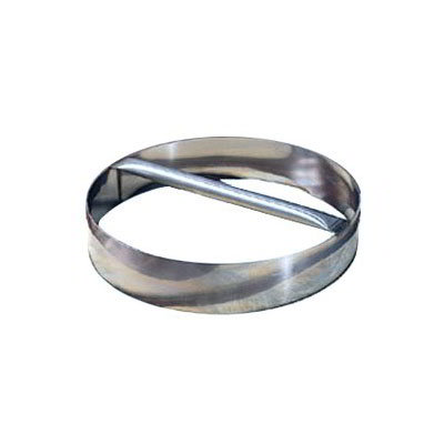 American Metalcraft RDC8 8-in Dough Cutting Ring w/ Welded Handle, Stainless