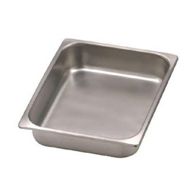 American Metalcraft RFP05RT Half Size Chafer Food Pan, Stainless