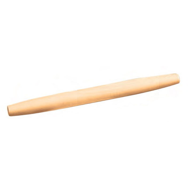 American Metalcraft RP021 Tapered Rolling Pin, 1.75x20.5-in, Light Wood