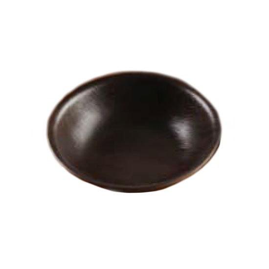 "American Metalcraft RVB6 6"" Round Bowl - Espresso Polystyrene"