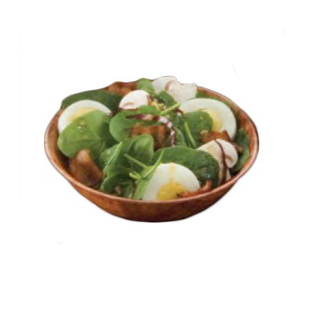 American Metalcraft RWW6 6-in Salad & Pasta Bowl, Keyaki Wood