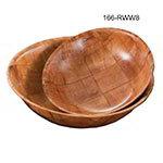 "American Metalcraft RWW8 8"" Salad & Pasta Bowl, Keyaki Wood"
