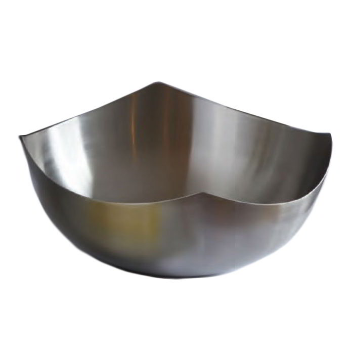 American Metalcraft SB3 Solid Bowl w/ No holes, 7x2.12-in, Stainless