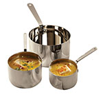 "American Metalcraft SHSP32 12-oz Stainless Sauce Pot - 3.5"" x 2.375"""