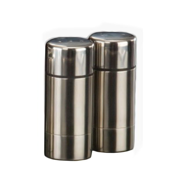 American Metalcraft SP35 3.5-in Salt & Pepper Set, Stainless