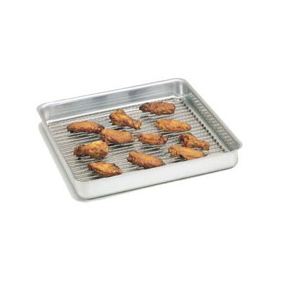 "American Metalcraft SQ1215 Straight Sided Deep Dish Pan, 12x12"", 1.5"" Deep, Aluminum"