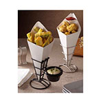 """American Metalcraft SQFBSS Fry Cone Holder, 2.5x3.62"""", Stainless"""