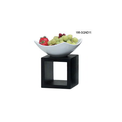American Metalcraft SQND11 10.75-in Bowl w/ 76-oz Capacity, Ceramic/White