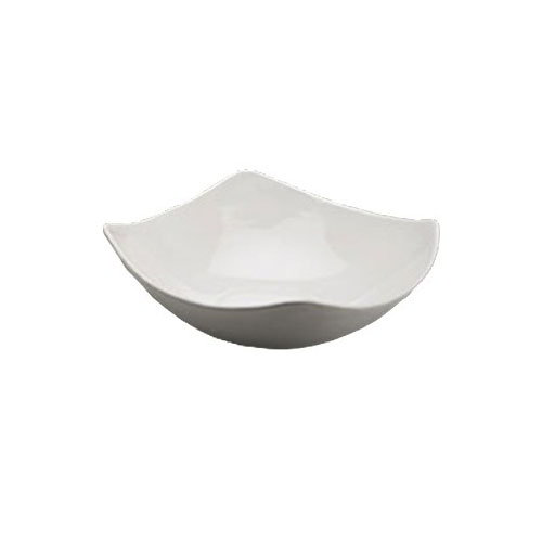"American Metalcraft SQND13 13"" Bowl w/ 122-oz Capacity, Ceramic/White"