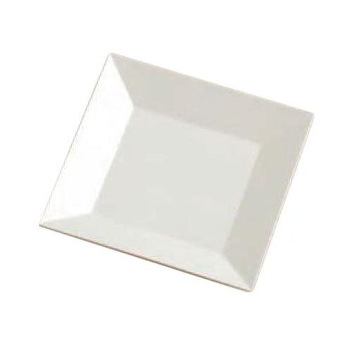 "American Metalcraft SQP10 12"" Square Melamine Platter - White"