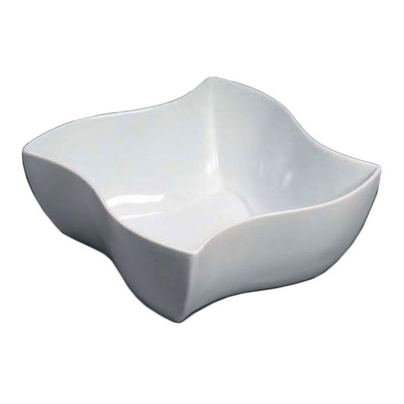 American Metalcraft SQVY1 2.25-in Condiment Bowl w/ 1.5-oz Capacity, Porcelain/White