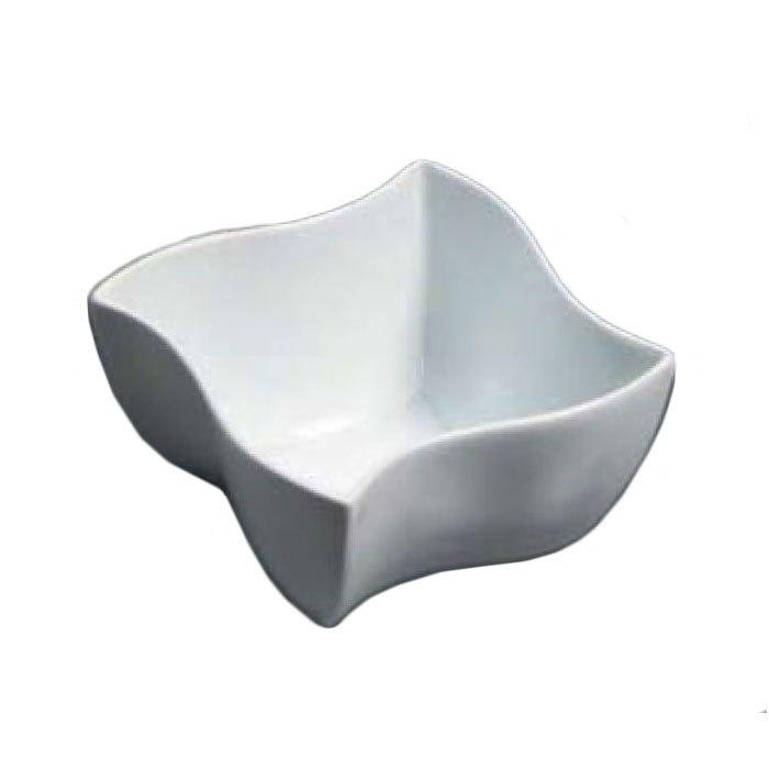 American Metalcraft SQVY5 5.5-in Bowl w/ 25-oz Capacity, Porcelain/White
