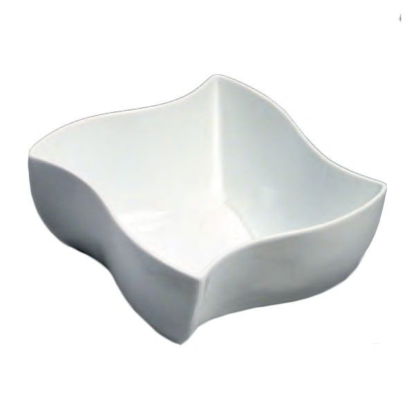 American Metalcraft SQVY8 8.5-in Bowl w/ 76-oz Capacity, Porcelain/White