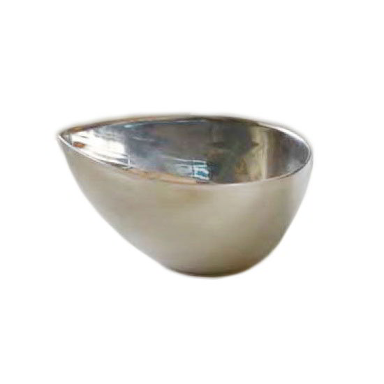 American Metalcraft SSB15 1-1/2-oz Egg-Shaped Bowl - Mirror-Finish Stainless