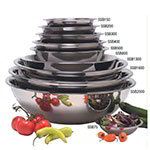 American Metalcraft SSB1600 17.75-in Mixing Bowl w/ 16-qt Capacity, Stainless