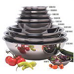 American Metalcraft SSB200 8.5-in Mixing Bowl w/ 2-qt Capacity, Stainless