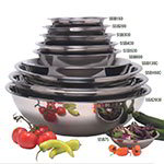 American Metalcraft SSB2000 19-in Mixing Bowl w/ 20-qt Capacity, Stainless