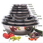 American Metalcraft SSB300 Mixing Bowl, 3 qt Capacity, Stainless