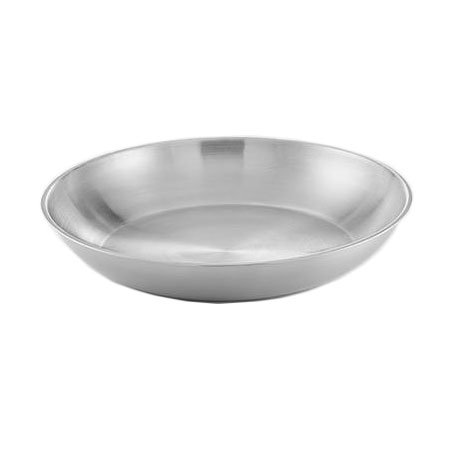 "American Metalcraft SSEA14 13.75"" Round Seafood Tray w/ 169-oz Capacity, Stainless"