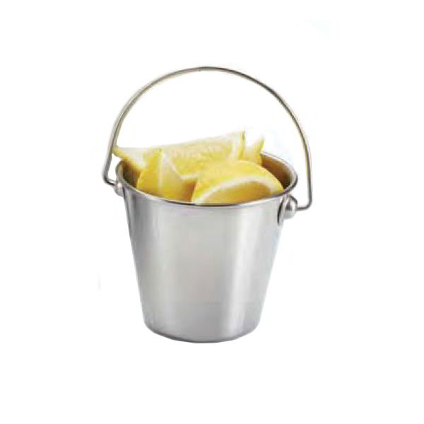 "American Metalcraft SSP35 3.5"" Mini Pail, Mirror Finish, Stainless"