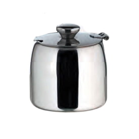 American Metalcraft SSSB62 Sugar Bowl w/ 12-oz Capacity & Hinged Lid, Mirror/Stainless