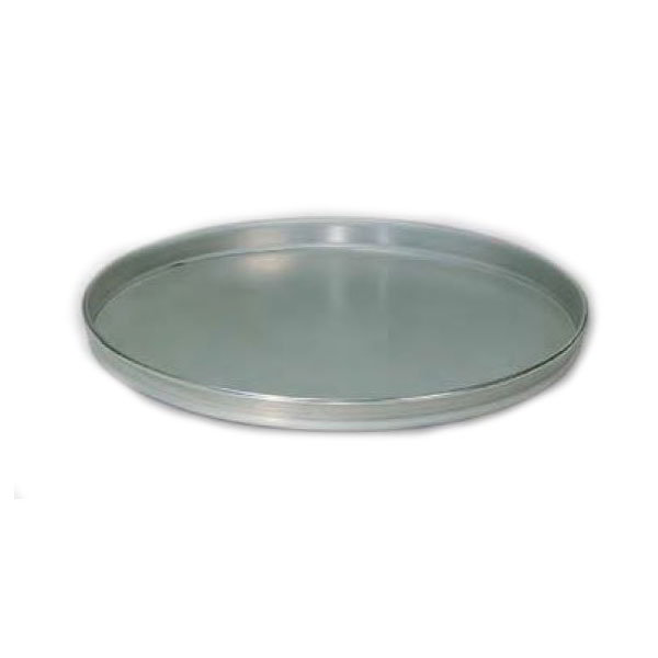 "American Metalcraft T4007 7"" Solid Straight Sided Pizza Pan, Tin/Steel"
