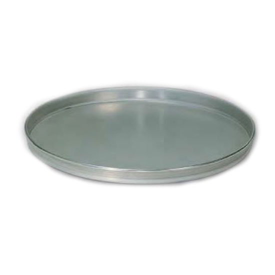 "American Metalcraft T4009 9"" Solid Straight Sided Pizza Pan, Tin/Steel"