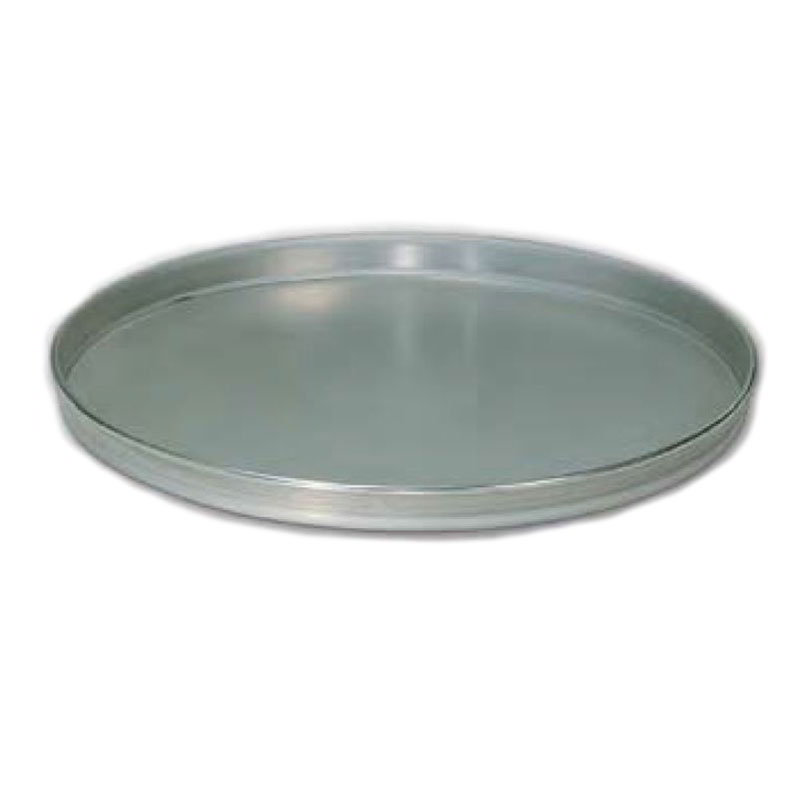 "American Metalcraft T4010 10"" Solid Straight Sided Pizza Pan, Tin/Steel"