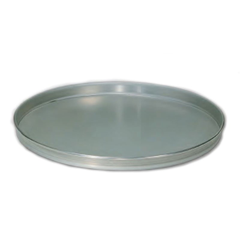 American Metalcraft T4012 12-in Solid Straight Sided Pizza Pan, Tin/Steel
