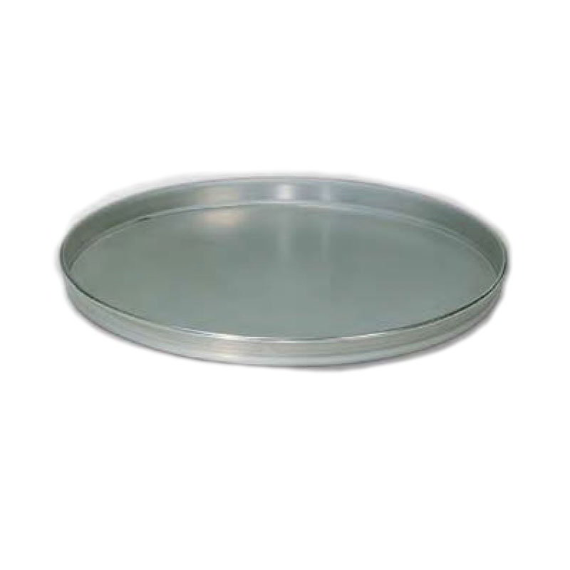 American Metalcraft T4014 14-in Solid Straight Sided Pizza Pan, Tin/Steel