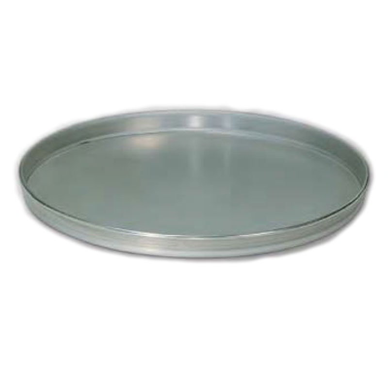 "American Metalcraft T4015 15"" Solid Straight Sided Pizza Pan, Tin/Steel"
