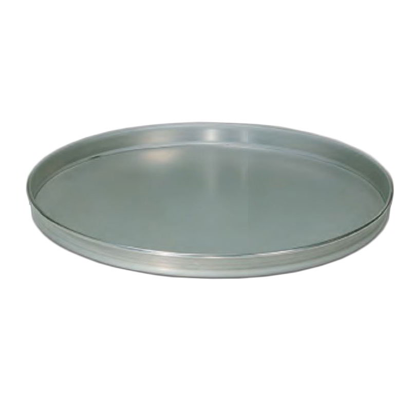 "American Metalcraft T4016 16"" Solid Straight Sided Pizza Pan, Tin/Steel"