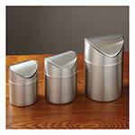 American Metalcraft TIM1 Round Waste Basket - Metal, Stainless