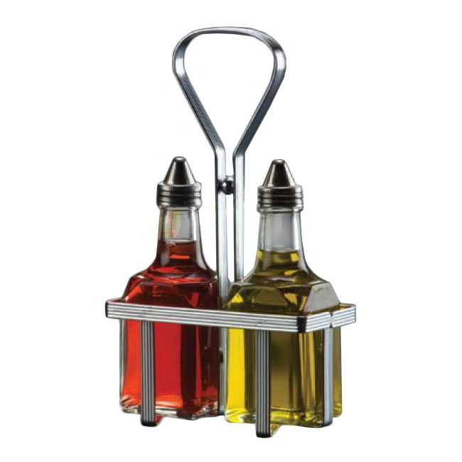 American Metalcraft VBR1 Oil & Vinegar Rack, Chrome