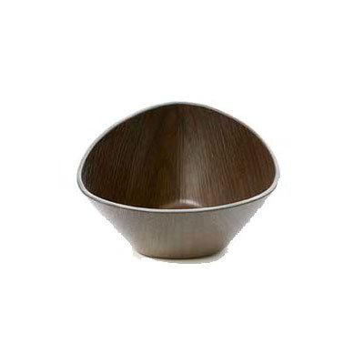 American Metalcraft VDBT4 14-oz Triangular Bowl - Polystyrene, Espresso