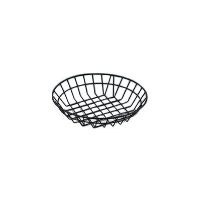 "American Metalcraft WIB100 10"" Wire Basket, Black"