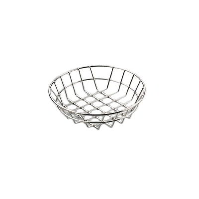 "American Metalcraft WISS8 8"" Basket, Stainless"