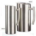 American Metalcraft WPSF67 Contemporary Water Pitcher w/ 67-oz Capacity, Satin/Stainless
