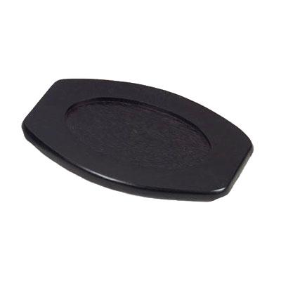 American Metalcraft WPU91 Sizzle Platter Underliner, 13.5x9.75-in, Wood
