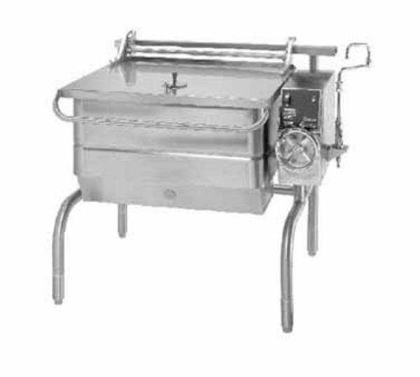 Groen BPM-30E Eclipse Braising Pan 30 Gallon Manual Tilt S/S Electric Restaurant Supply