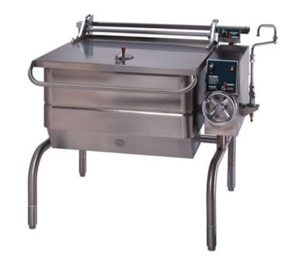 Groen BPM-30G Eclipse Braising Pan, 30 Gallon, Manual Tilt, S/S, Gas