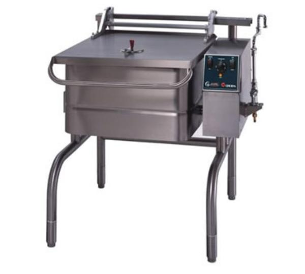 Groen BPP-30E Eclipse Braising Pan, 30 Gallon, Power Tilt, S/S, Electric