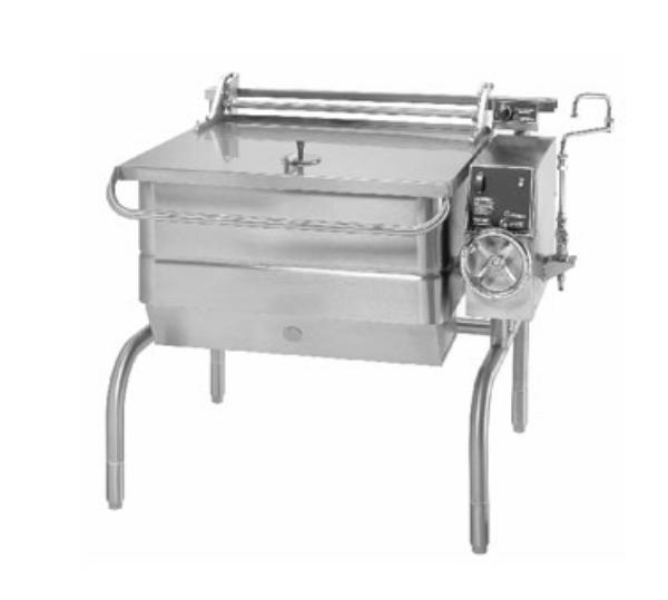 Groen BPP-40G Eclipse Braising Pan, 40 Gallon, Power Tilt, S/S, Gas