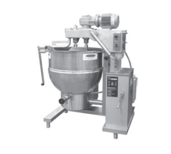 Groen DHT-60,INA/2 Cooker Mixer w/ Inclined Agitator, 60-Gallon, NG