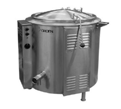 Groen EE-100 100-Gallon Kettle w/ 2/3-Jacket, Tri-Leg Base, Electric